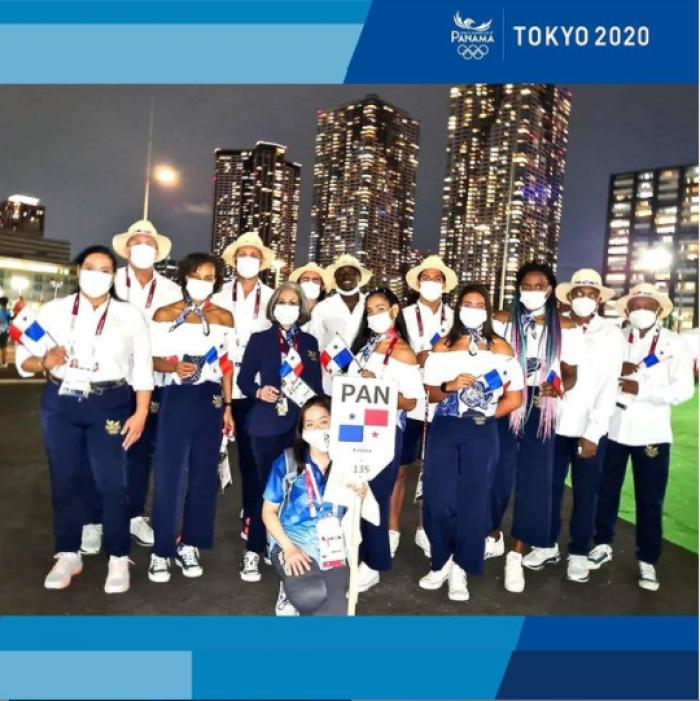 Delegación de Panamá en los Juegos Olímpicos de Tokio.