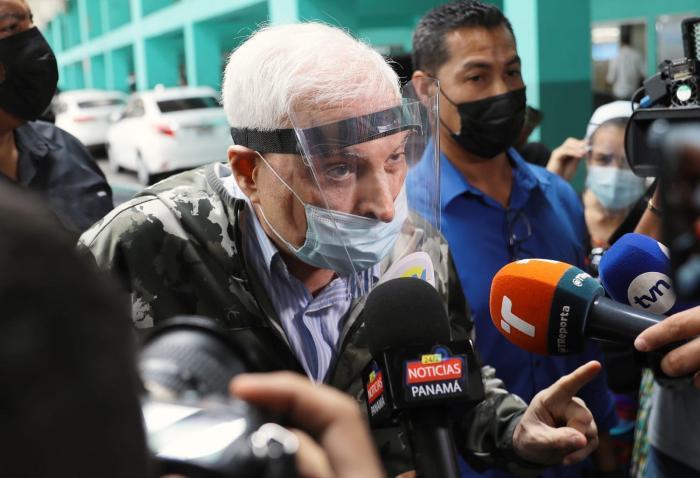 El expresidente panameño, Ricardo Martinelli.