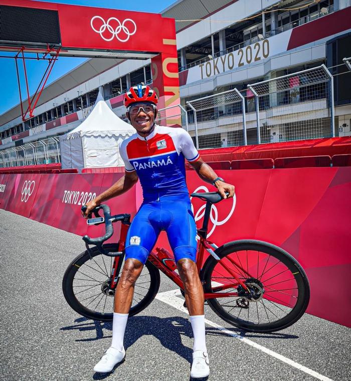 Christian Jurado, ciclista panameño en Tokio 2021