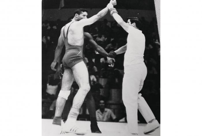 Segundo Olmedo, una vida dedicada a la lucha olímpica