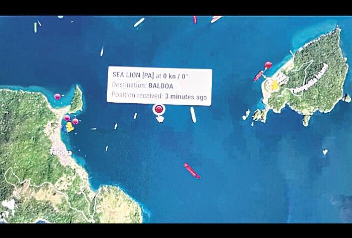 Mitchel: 'Sea Lion' sigue anclado al frente de la bahía de Isla Taboga