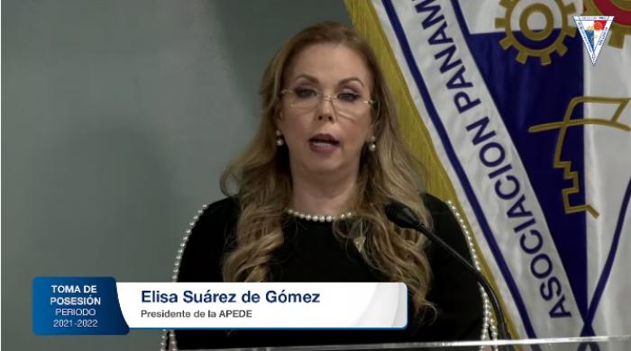 Elisa Suárez de Gómez, presidenta reelecta de la Apede 2021-2022
