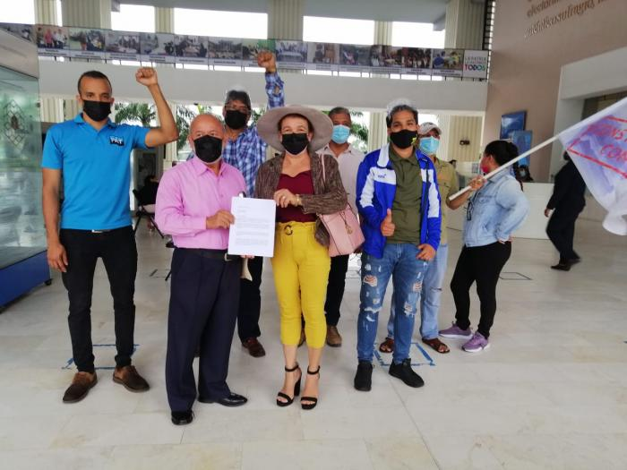 Ciudadanos organizados rechazan constituyente paralela