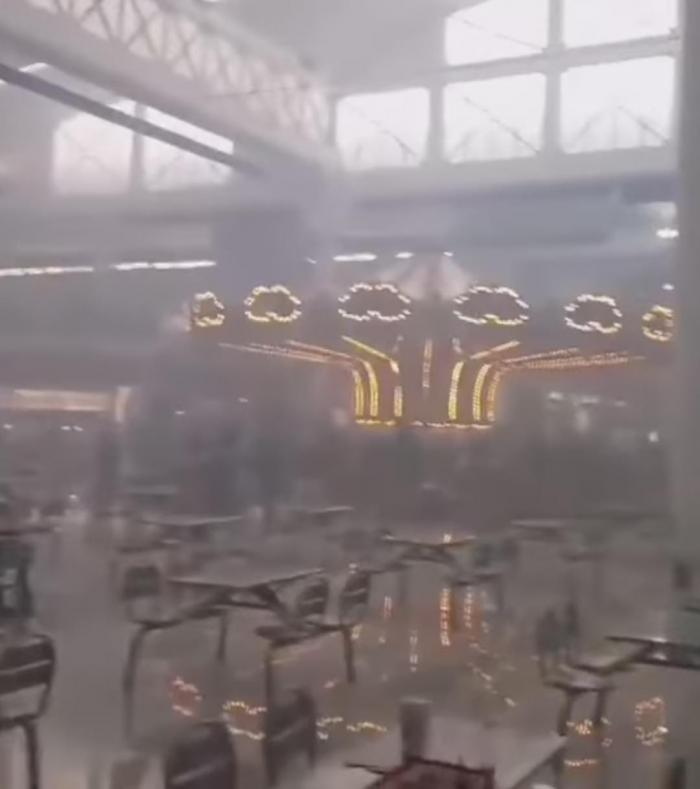 Explosión de Albrook Mall