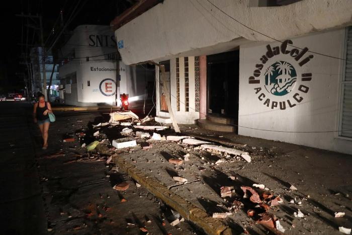 Un terremoto de magnitud 7.1 sacude el centro y sur de México
