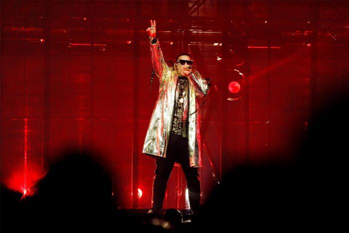 El reguetonero puertorriqueño Daddy Yankee