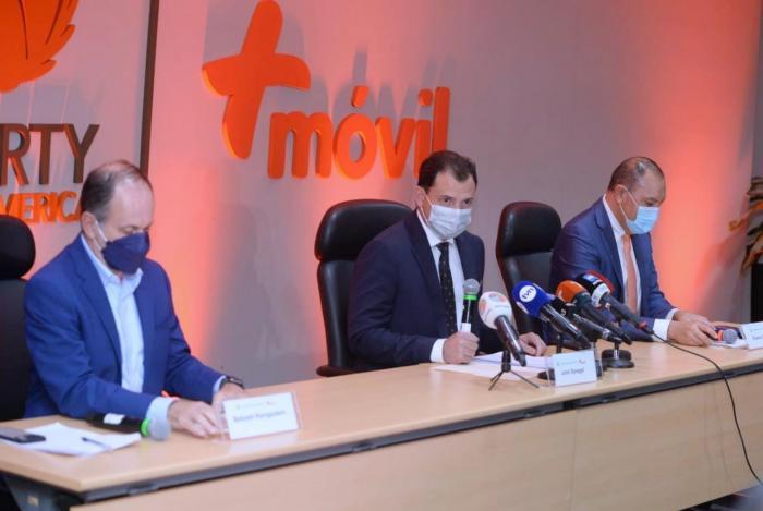 El acuerdo de compra de las operaciones de Claro  Panamá se confirmó hoy en conferencia de prensa.