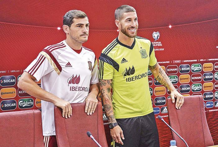 Casillas sobre Ramos: 'Siempre que un amigo se va, cuesta verle en otro club'