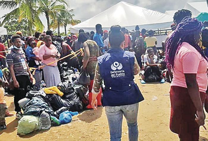Colombia reporta 19 mil emigrantes represados a la espera de cruzar hacia Panamá