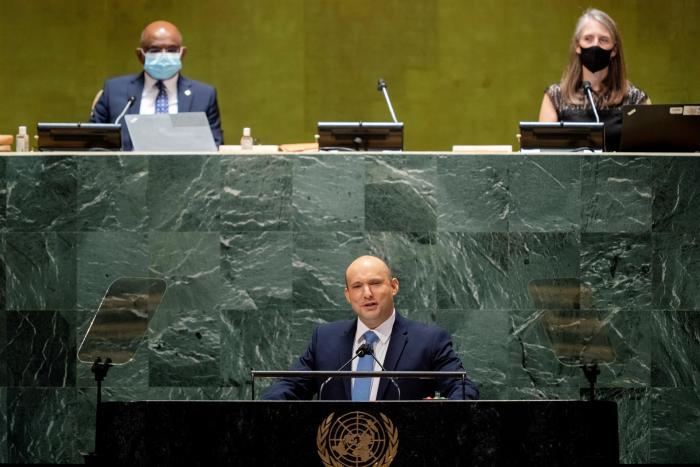 El primer ministro de Israel, Naftali Bennett.