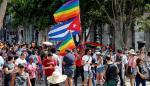 Una inédita marcha ilegal LGTBI en La Habana acaba en choques y detenciones
