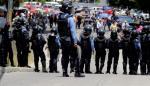 Manifestantes exigen la renuncia del jefe de Estado hondureño