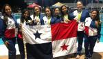 Panamá se destaca en natación artística en Barbados