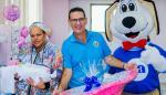 Caja de Ahorro entrega 85 canastillas conmemorando aniversario