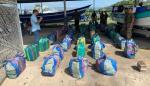 Senan decomisa droga en dos embarcaciones en Puerto Caimito