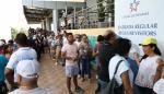 Miles de peregrinos visitan el Canal