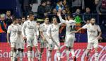 Dos penaltis con VAR dan a victoria al Madrid ante un Levante intenso