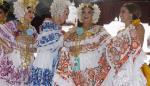 Loraine Sánchez, posee la mejor pollera de Panamá