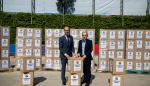 El Barça dona más de 17.000 prendas para jóvenes en riesgo de exclusión