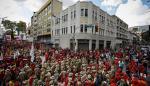 Multitudinaria marcha chavista rechaza bloqueo de EEUU