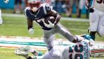 0-43. Antonio Brown brilla en su debut con los Patriots