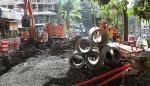 Comerciantes de la vía Argentina se quejan de proyecto de la Alcaldía