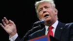 "Trump ironiza sobre el discurso de Obama: ""Me quedé dormido"""