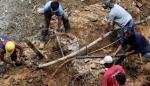 Suben a 22 los muertos en avalancha de tierra en Cebu, centro de Filipinas