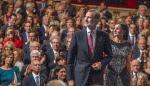 El rey de España se reúne con el presidente del Parlamento Centroamericano