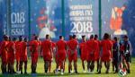 La selección de Panamá continúa con su mantenimiento físico