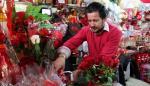 La floricultura colombiana se prepara para San Valentín del 2019
