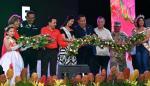 Rosa Iveth Montezuma engalana la cuarta versión de la Parada de las Flores