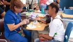 Feria de salud para residentes de San Miguelitoen el Instituto Alfredo Cantón