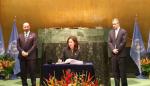 Panamá firma histórico Acuerdo de París sobre el cambio climático