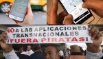 Tecnologías protestas Uber