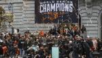 Fanáticos acompañaron a los Gigantes en el desfile por el triunfo