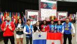 Jiu Jitsu logra 18 medallas para Panamá en la Copa Mundial