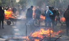 Protestas en Chile 2019 alza del metro