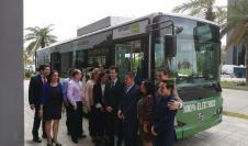 Mi Bus operará bus eléctrico de la china BYD durante seis meses