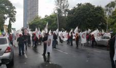 Protestas Contra el Código de Trabajo
