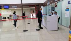 Simulacro del SNM en el Aeropuerto Internacional Marcos A. Gelabert