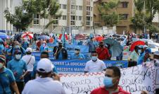 Marcha docente 2020