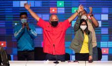 El candidato chavista a la Asamblea Nacional, Diosdado Cabello