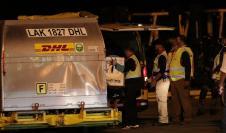 El segundo lote fue recibido por las autoridades de Salud y el gerente de Tocumen, S.A., Raffoul Arab.