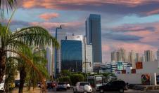 Panoramica de la ciudad de Panamá