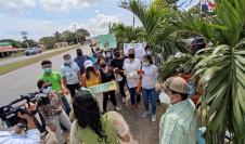 la directora regional del ministerio de Ambiente de Coclé, Chiara Ramo, se comprometió a realizar una evaluación e intervención de acuerdo con la legislación que rige las herramientas de gestión ambiental para  concesiones mineras