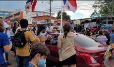 Manifestaciones en La Chorrera