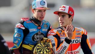 Los hermanos Márquez, campeones del mundo de motociclismo de Moto GP