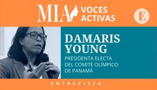 Damaris Young: 'El objetivo primordial es brindarle herramientas mínimas necesarias a los atletas'