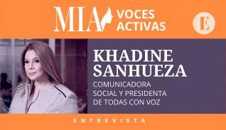 Khadine Sanhueza : 'Todas las corrientes feministas son importantes dentro del movimiento'